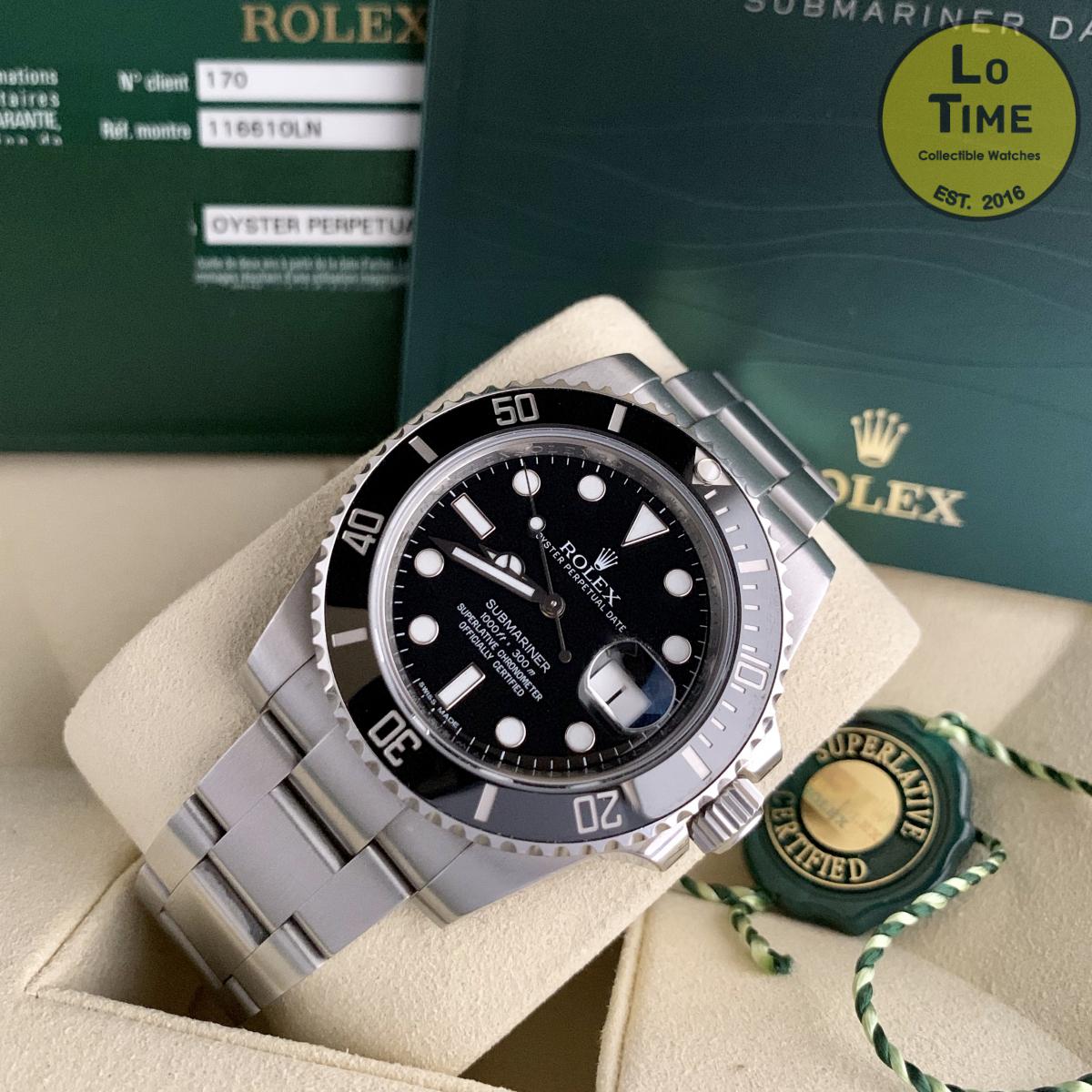 Rolex Submariner 116610LN B/P
