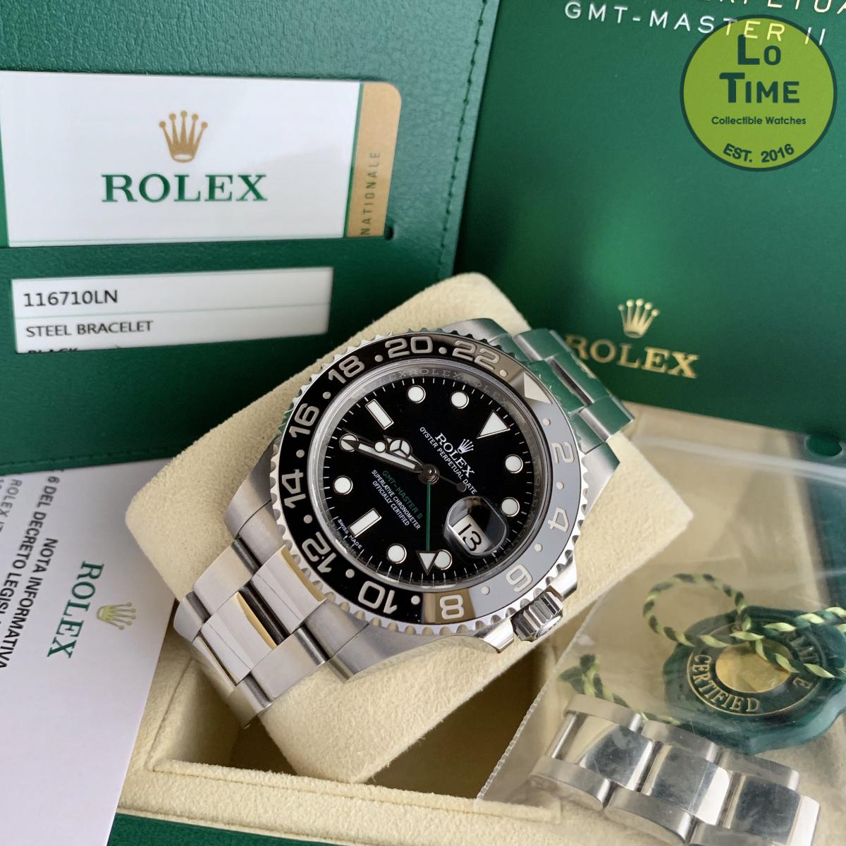 Rolex GMT-Master II 116710LN B/P