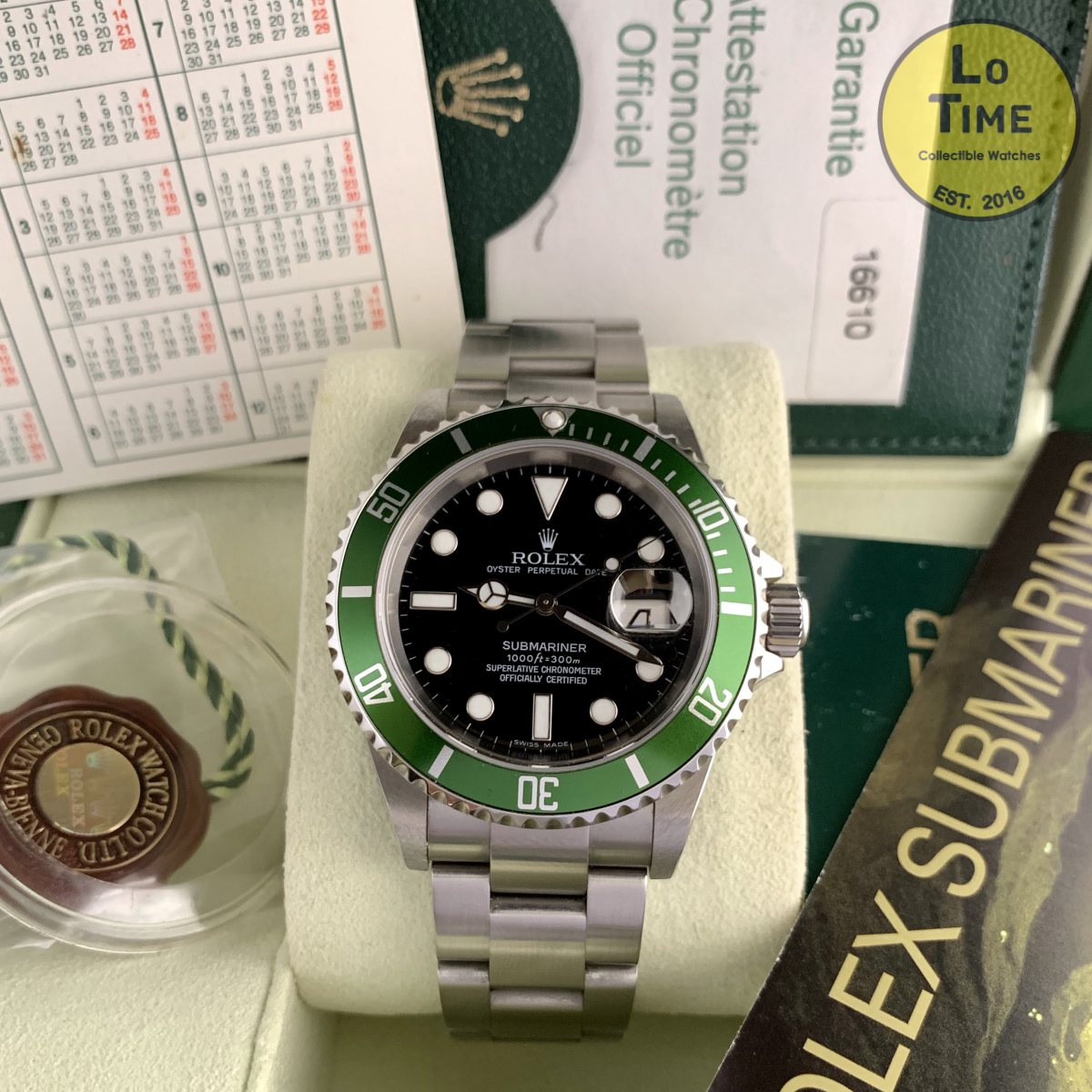 Rolex Submariner 16610LV B/P