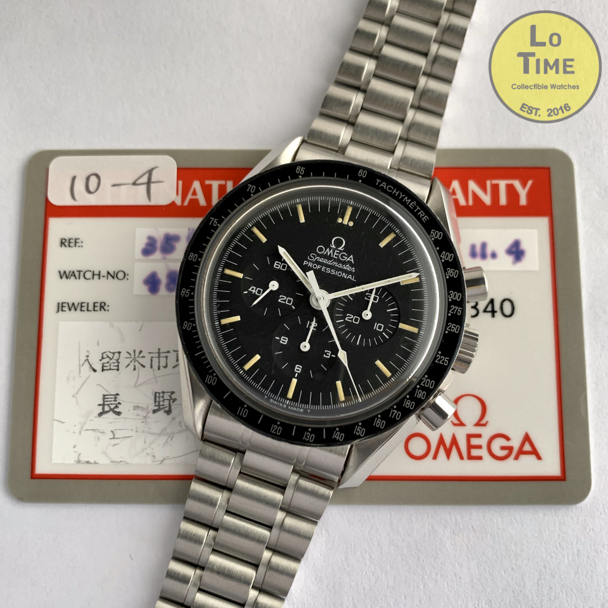 "Omega Speedmaster professional ""Moonwatch"" B/P"