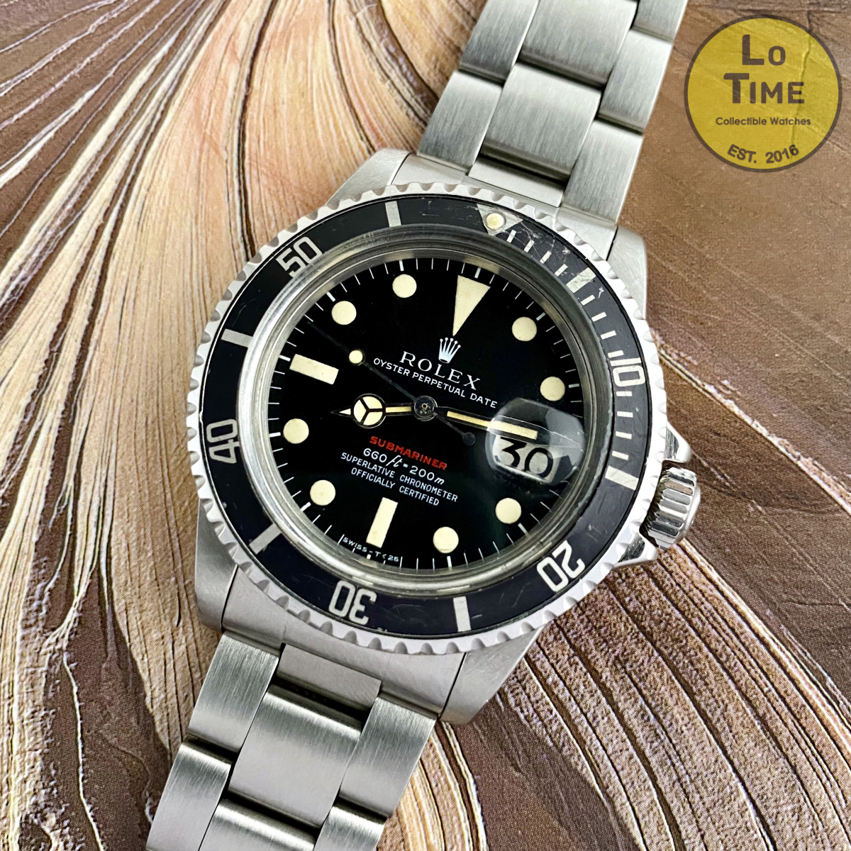 Role Submariner 1680 Red