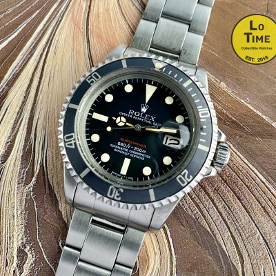 Rolex Submariner 1680 Red
