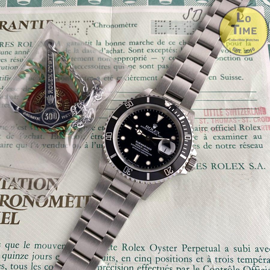 Rolex Submariner 16610 NOS B/P