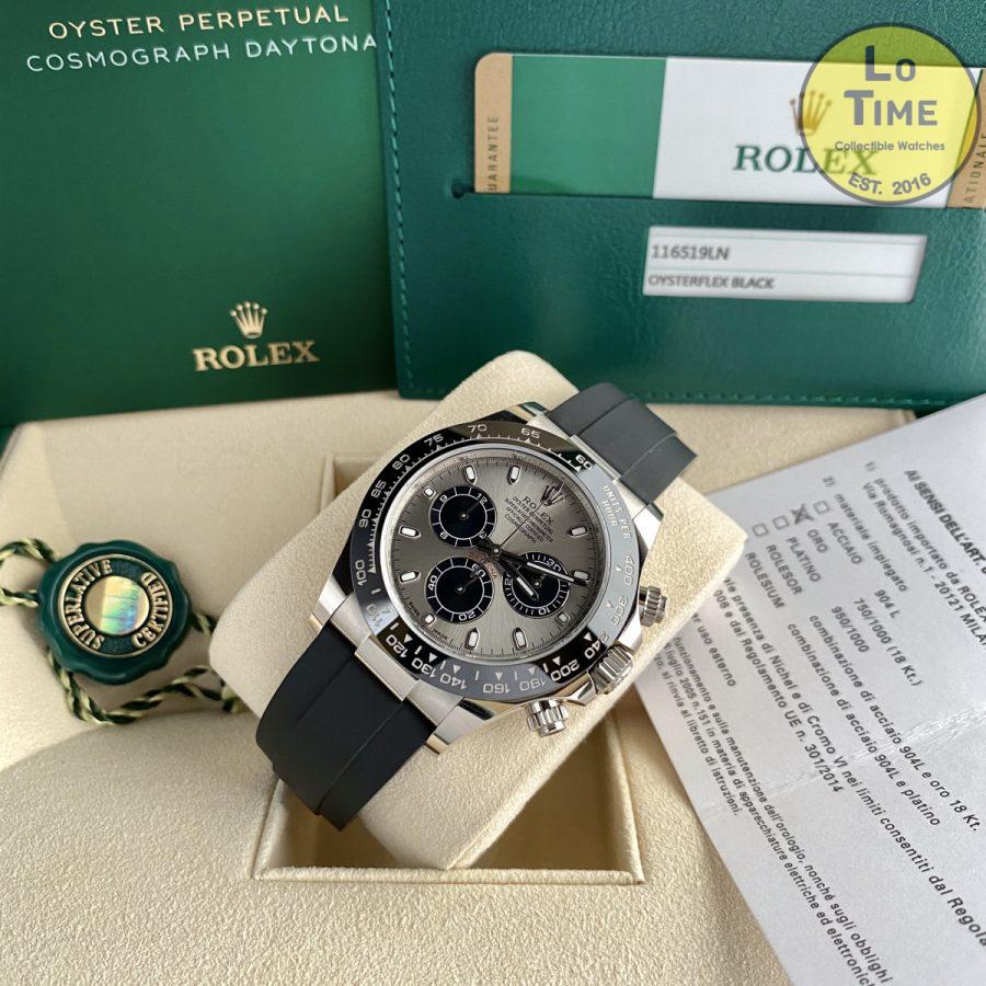 Rolex Daytona 116519LN Oysterflex B/P