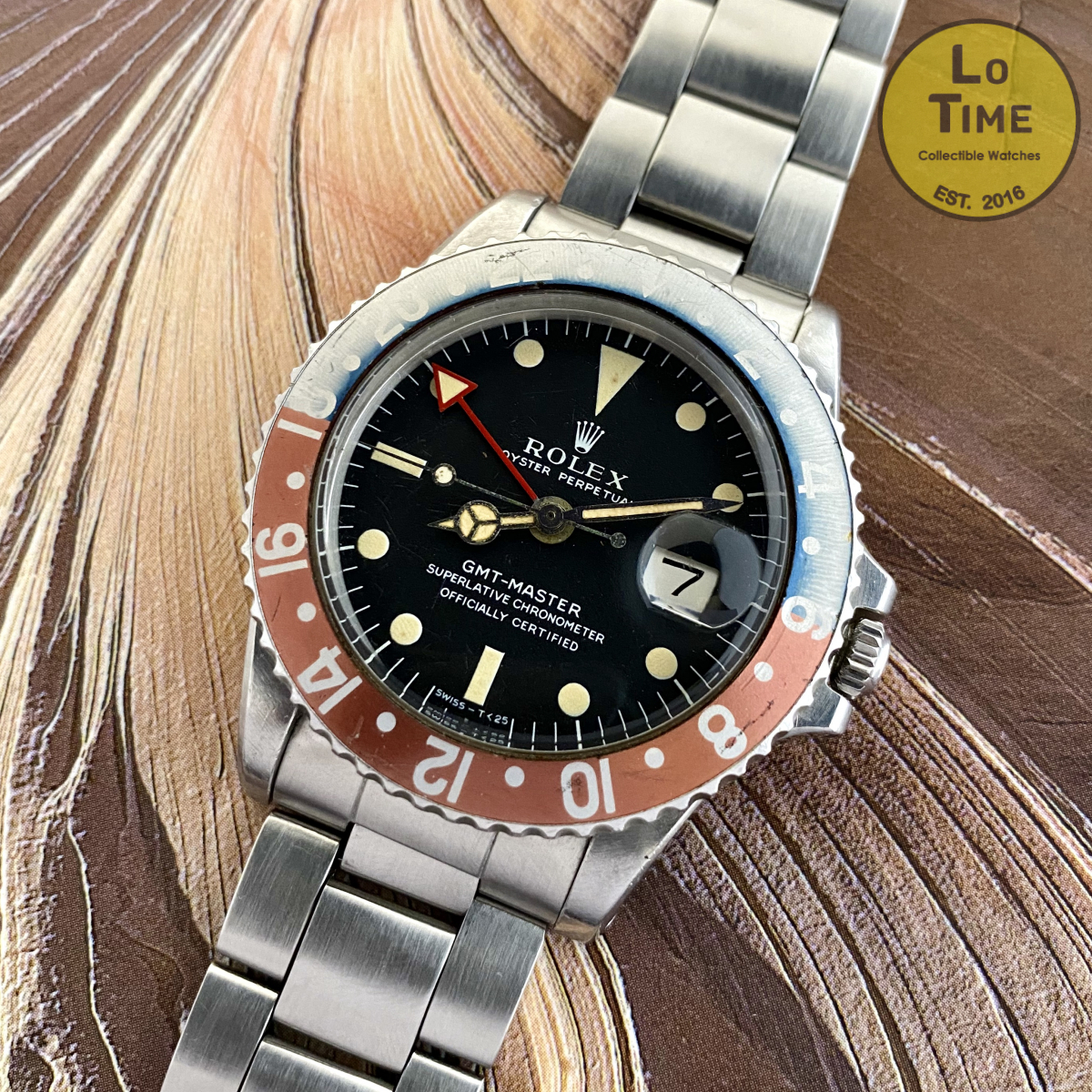 Rolex GMT-Master 1675 LongE ALL Red