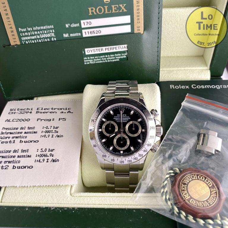 Rolex Daytona 116520 B/P
