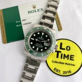 Rolex Submariner 116610LV w/ card