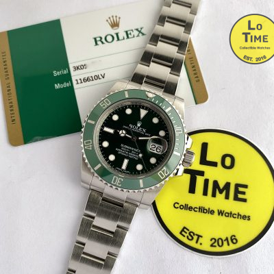 Rolex Submariner 116610LV w/ card