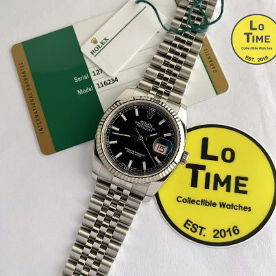 Rolex Datejust 116234 w/ card