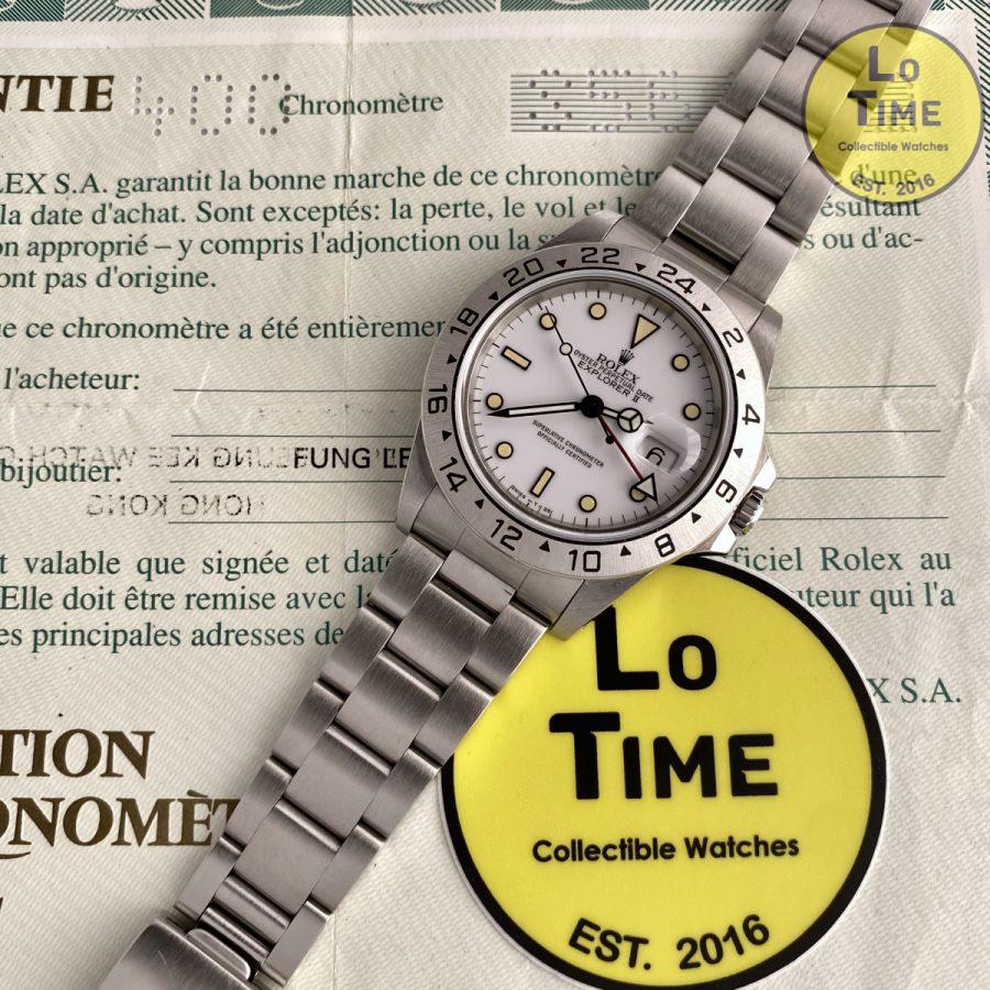 Rolex Explorer II 16570 B/P Chicchi di Mais