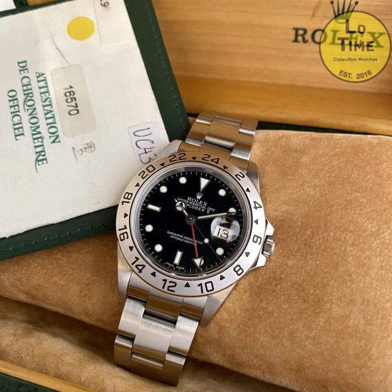 Rolex Explorer II 16570 B/P