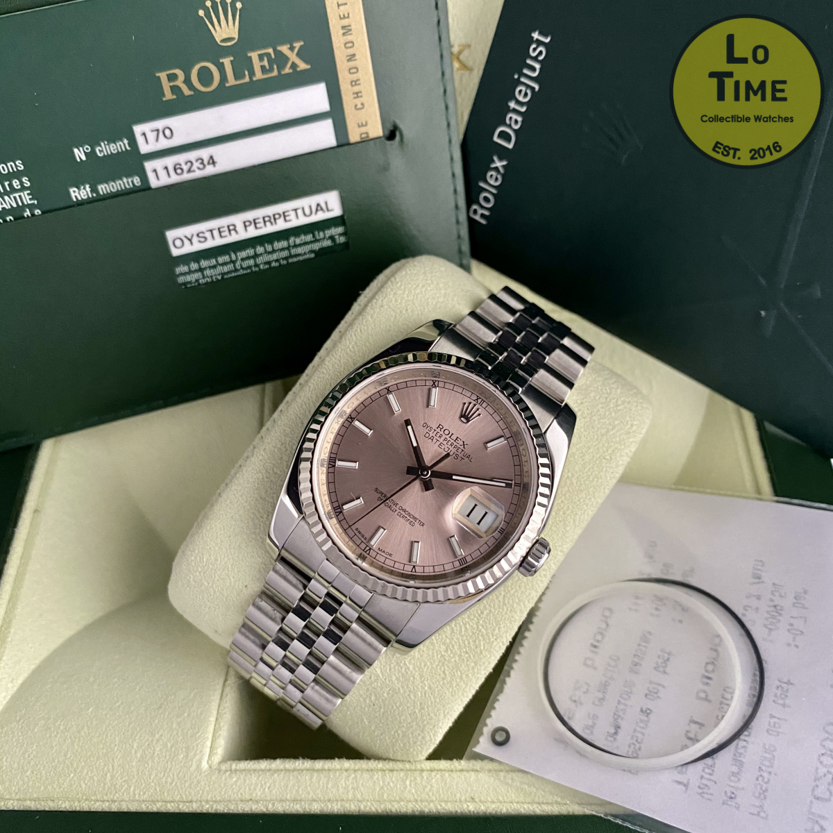 Rolex Datejust 116234 B/P