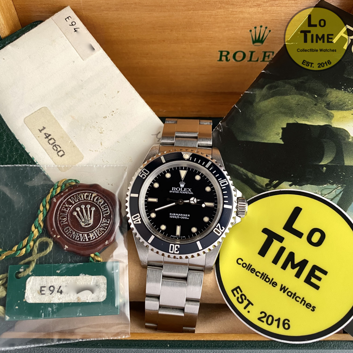 Rolex Submariner 14060 B/P