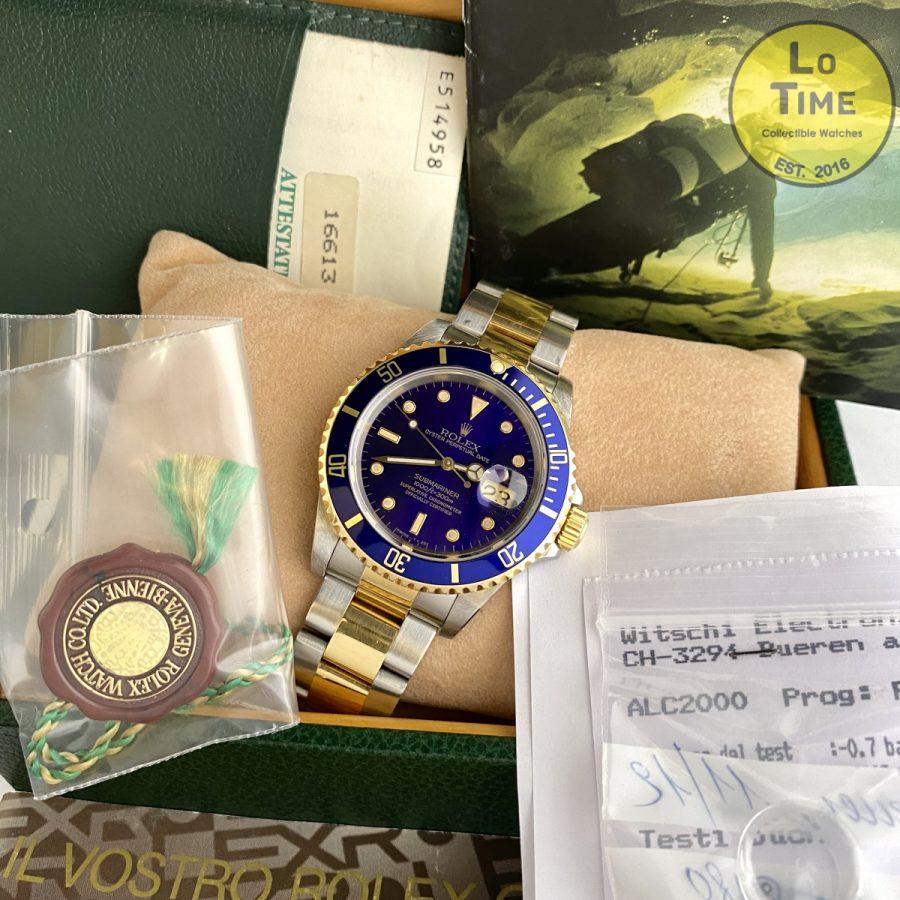 Rolex Submariner 16613 B/P