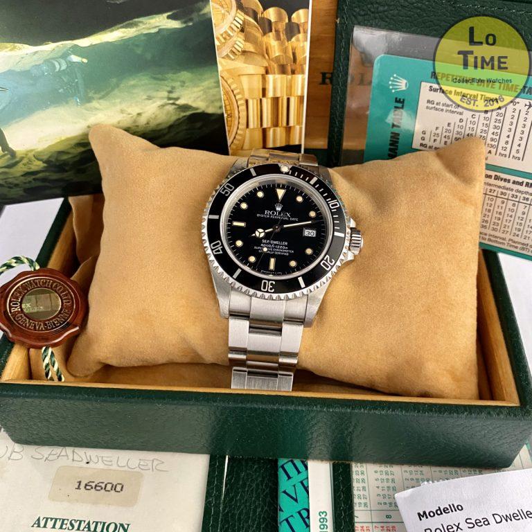 Rolex Sea-Dweller 16600 B/P