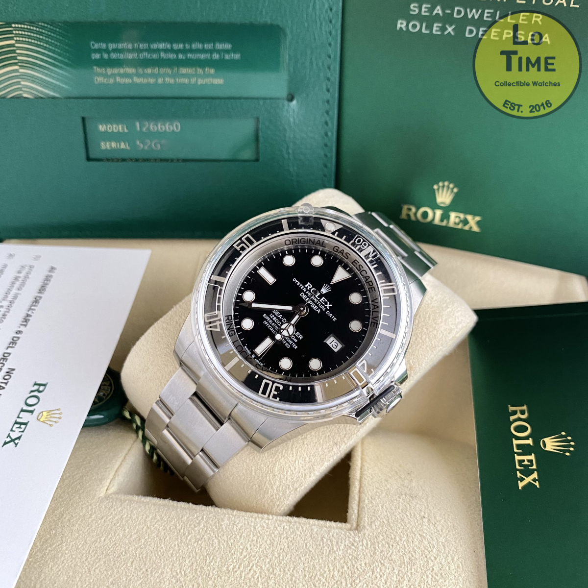 Rolex Sea-Dweller Deep sea 126660 NEW B/P