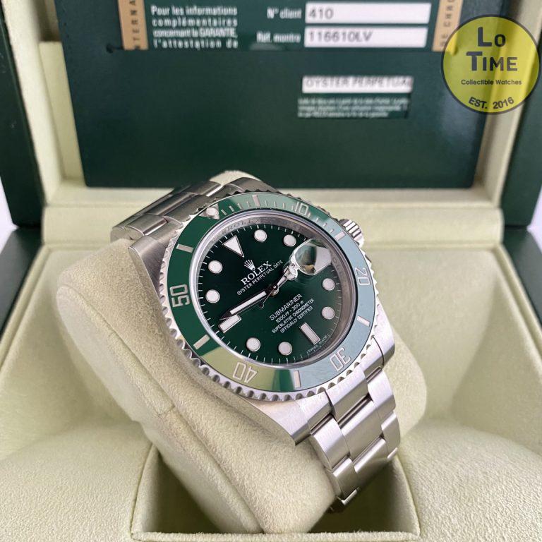 Rolex Submariner 116610LV B/P