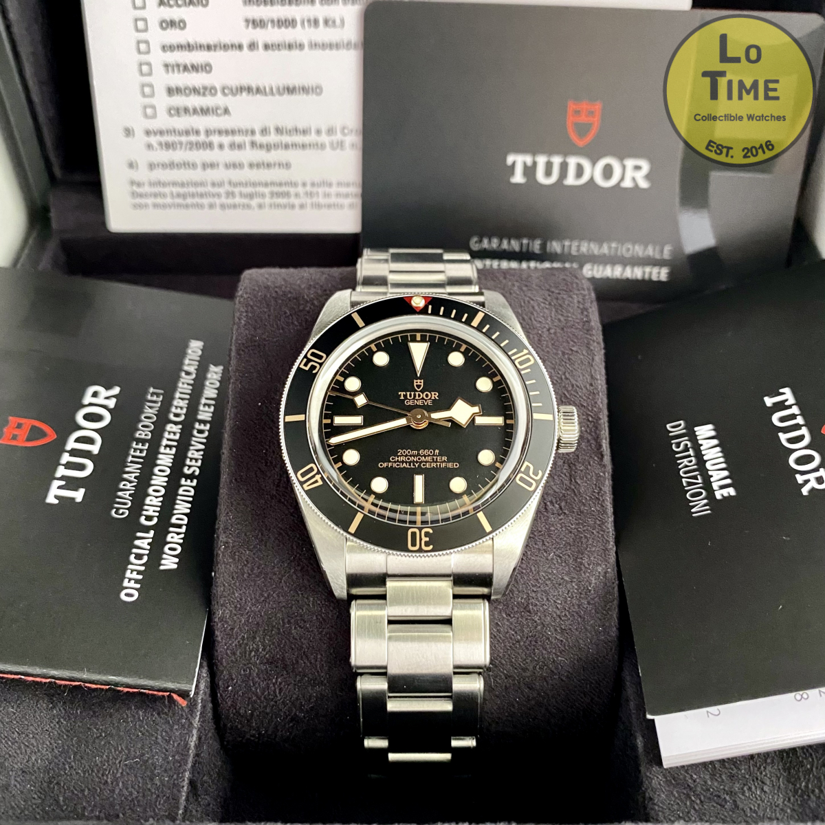 Tudor Black Bay fifty-eight 79030N B/P